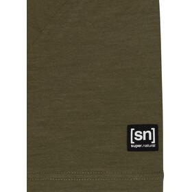 super.natural Graphic T-Shirt Herren olive night/jet black sailor